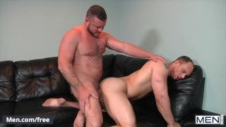 Men.com – St8 husband cheats on wife with hairy hunk – John Magnum, Charlie